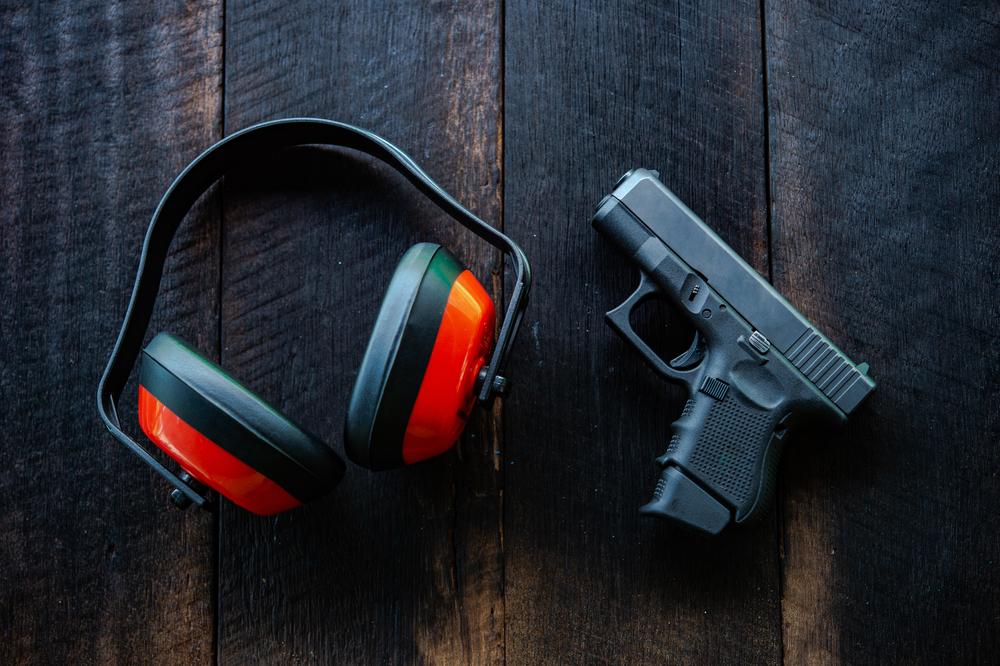 Тренировочное занятие по практической стрельбе